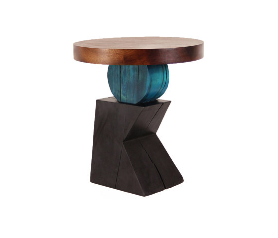 Lazlo Sculptural End Table by Pfeifer Studio | Side tables