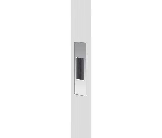 Mardeco End Pull Polished Chrome by Mardeco International Ltd. | Flush pull handles