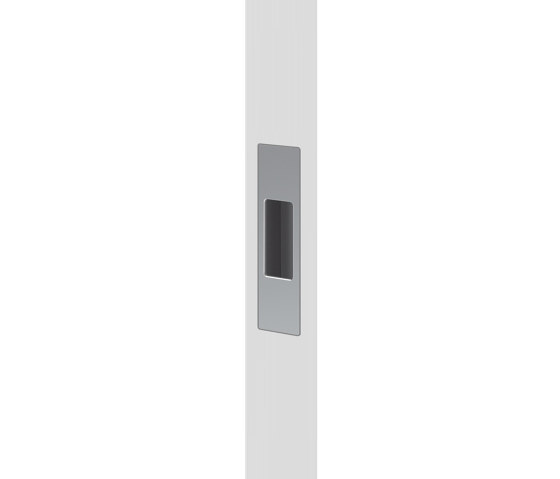 Mardeco End Pull Satin Chrome by Mardeco International Ltd. | Flush pull handles
