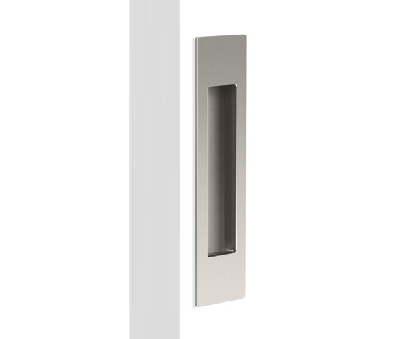 Mardeco Flush Pull Brushed Nickel by Mardeco International Ltd. | Flush pull handles