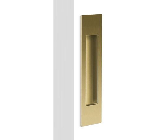 Mardeco Flush Pull Satin Brass by Mardeco International Ltd. | Flush pull handles
