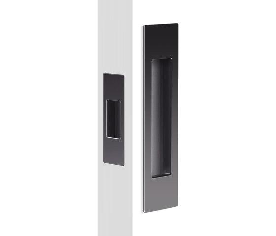Mardeco Flush Pull Set Black by Mardeco International Ltd. | Flush pull handles