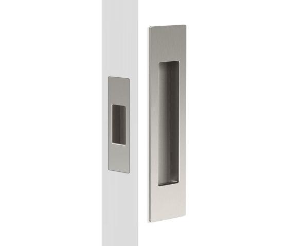 Mardeco Flush Pull Set Brushed Nickel by Mardeco International Ltd. | Flush pull handles