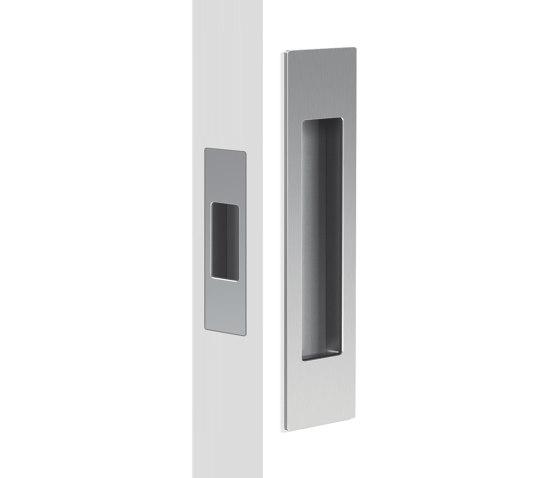 Mardeco Flush Pull Set Satin Chrome by Mardeco International Ltd. | Flush pull handles