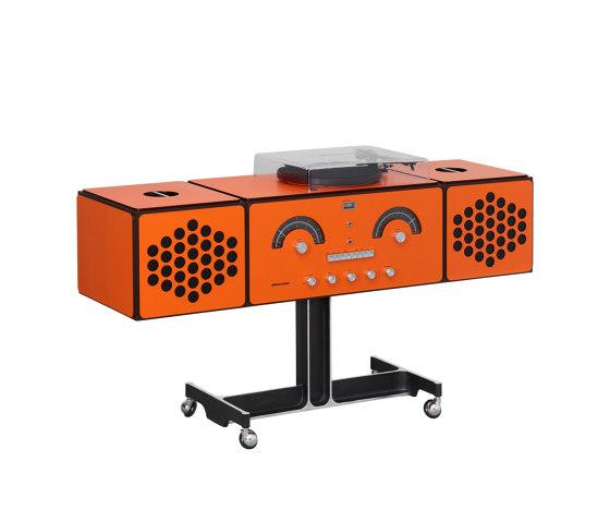 Radiofonografo | rr226-fo-st-Arancio by Brionvega | Side tables