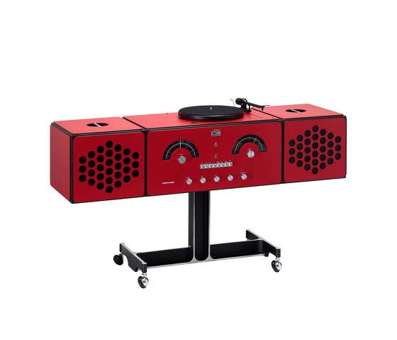 Radiofonografo | rr226-fo-st-Rosso by Brionvega | Sound systems