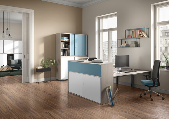 Prisma 2 Funktionsschrank by PALMBERG | Cabinets