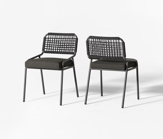 Tai Open Air chair by Meridiani | Chairs