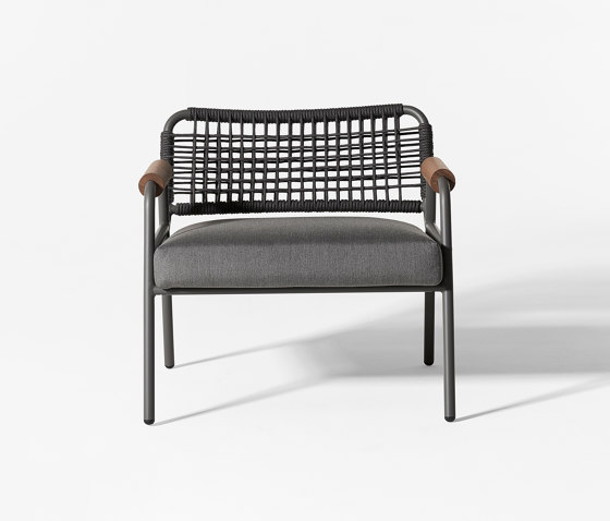 Zoe Wood Open Air armchair by Meridiani | Armchairs