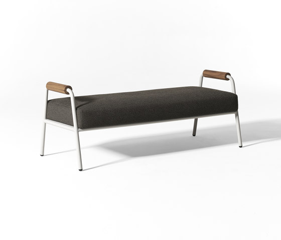Zoe Wood Open Air bench by Meridiani | Benches