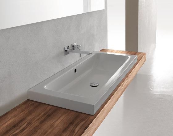CONTURA counter-top washbasin by Schmidlin   Wash basins
