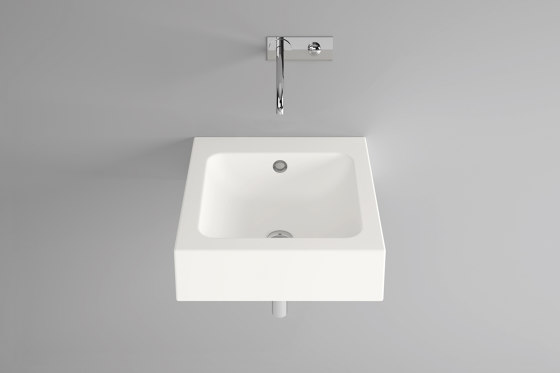CONTURA wall-mount washbasin by Schmidlin | Wash basins
