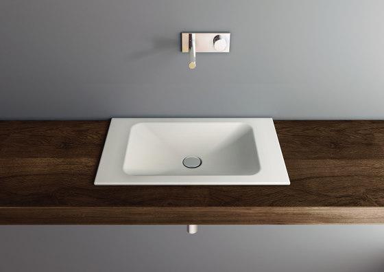 LOTUS built-in washbasin by Schmidlin | Wash basins