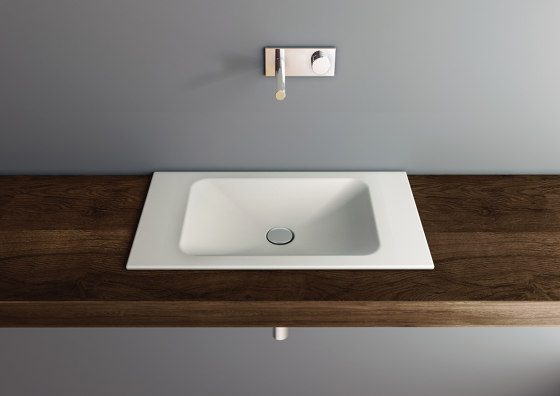 LOTUS built-in washbasin by Schmidlin   Wash basins
