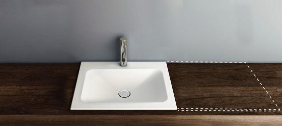 LOTUS VARIO built-in washbasin by Schmidlin | Wash basins