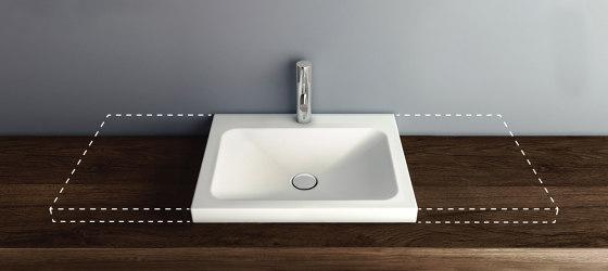 LOTUS VARIO counter-top washbasin by Schmidlin | Wash basins