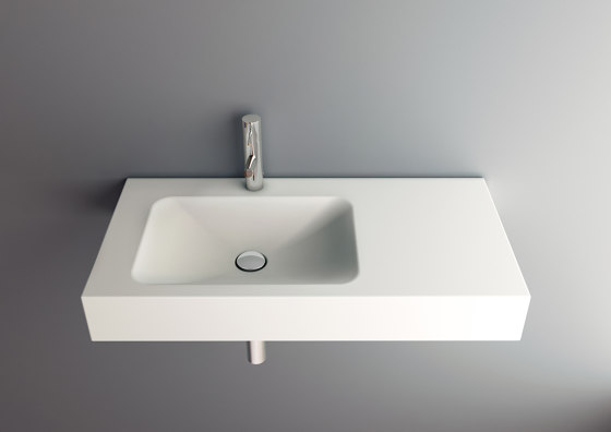 LOTUS wall-mount washbasin by Schmidlin   Wash basins