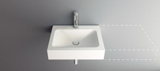 LOTUS VARIO wall-mount washbasin by Schmidlin   Wash basins
