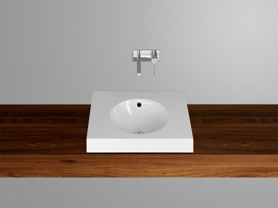 ORBIS counter top washbasin by Schmidlin   Wash basins