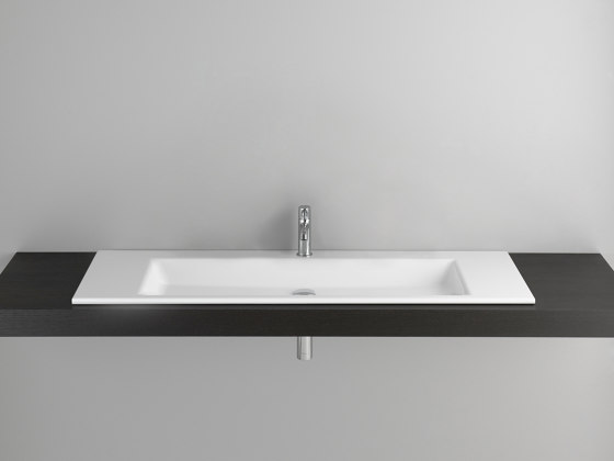 STUDIO built-in washbasin by Schmidlin | Wash basins