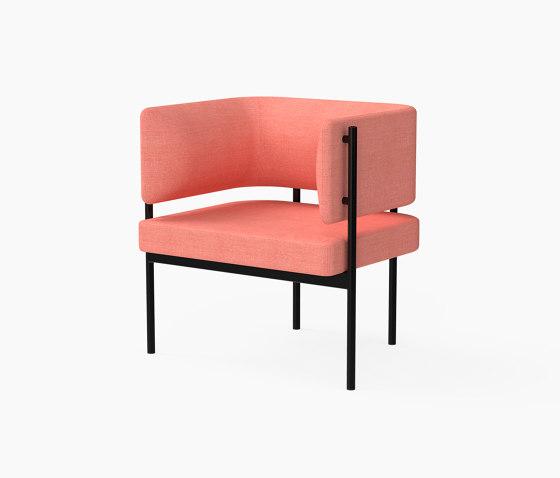 Crescent, Armchair von Derlot | Sessel
