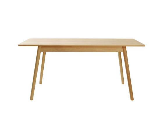 C35B Dining Table by Poul M. Volther by FDB Møbler | Dining tables