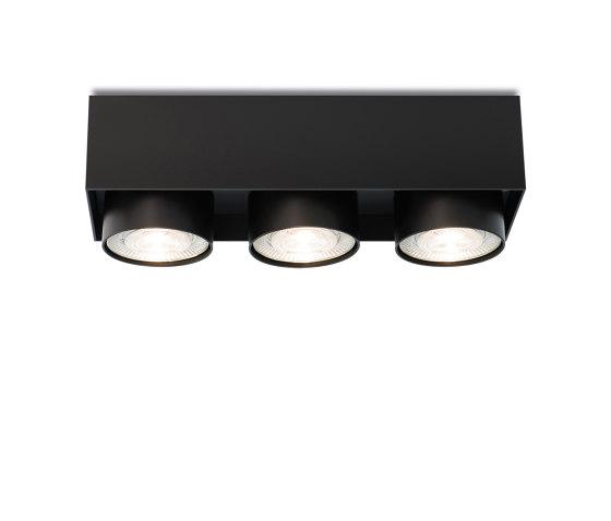 wittenberg 4.0 wi4-ab-3e-hb black di Mawa Design | Lampade plafoniere