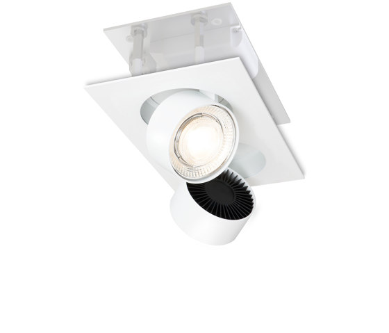 wittenberg 4.0 wi4-be-2e white di Mawa Design | Lampade soffitto incasso