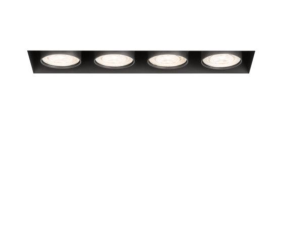 wittenberg 4.0 wi4-eb-4e-db black di Mawa Design | Lampade soffitto incasso