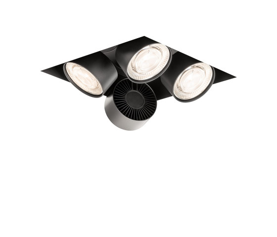 wittenberg 4.0 wi4-eb-4q-db black di Mawa Design | Lampade soffitto incasso