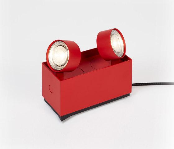 wittenberg 4.0 wi4-reg-2e-hb »parkett« red di Mawa Design | Lampade pavimento