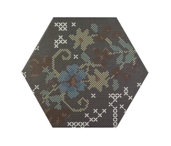 Punto Croce Black by Apavisa | Ceramic tiles