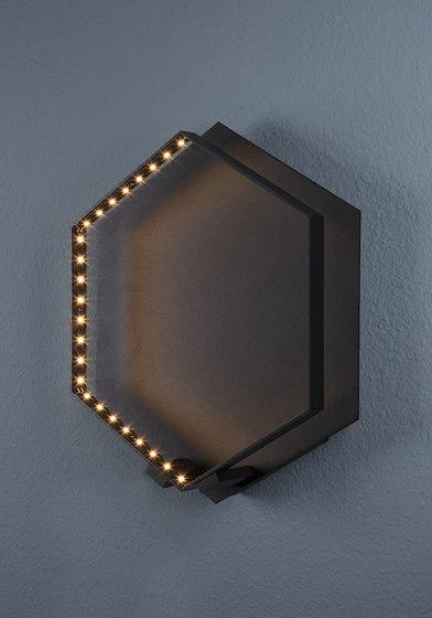 HEXA WALL Black by Le deun | Wall lights