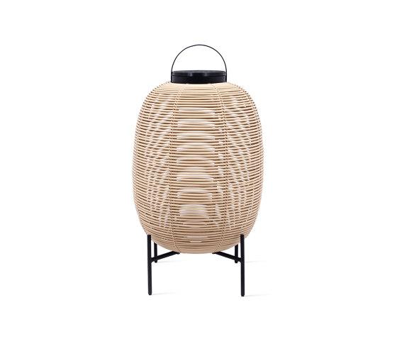 Tika lantern steel base by Vincent Sheppard | Outdoor floor lights