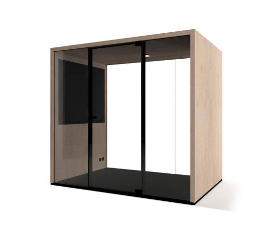 Lohko Box 3 Birch by Taiga Concept | Office Pods