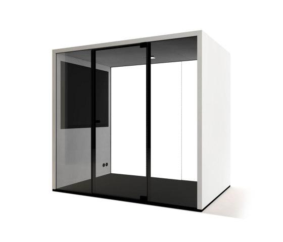 Lohko Box 3 Laminate White de Taiga Concept | Box de bureau