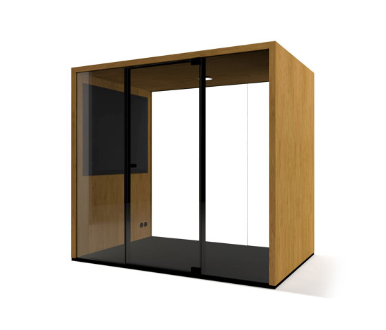 Lohko Box 3 Oak by Taiga Concept | Office Pods