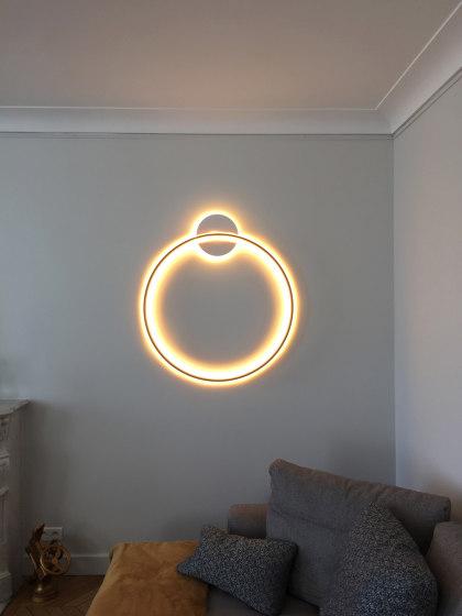 _O WALL LAMP by Henri Bursztyn | Wall lights