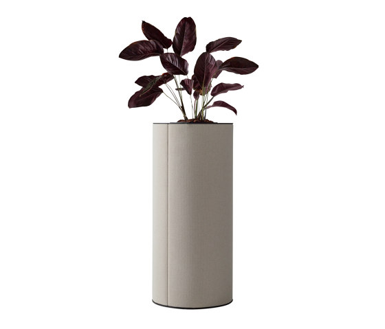 dB Pillar with Waste Paper Basket by Abstracta   Waste baskets