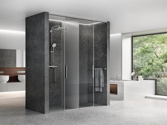 Viva Sliding Door by Duscholux AG   Shower screens