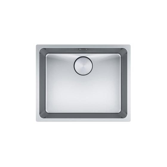 Mythos Bowl MYX 110-50 Stainless Steel by Franke Kitchen Systems   Kitchen sinks