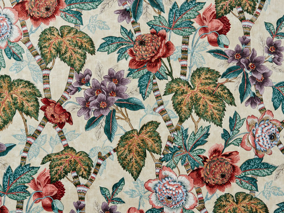 Cape Floral 367 by Zimmer + Rohde | Drapery fabrics