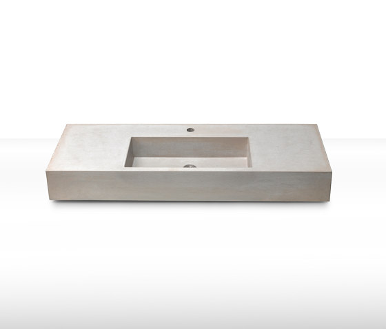 dade CASSA 120 concrete sink (middle) by Dade Design AG concrete works Beton | Wash basins
