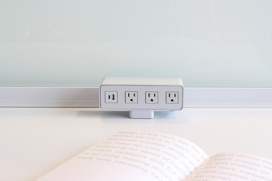 Power Qube by Teknion | USB power sockets