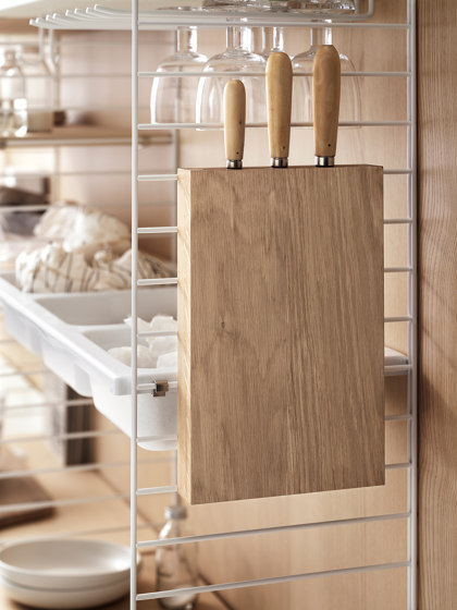 String System kitchen accessory Knife holder de string furniture | Blocs couteaux