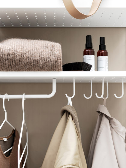 String System Accessoires by string furniture | Single hooks