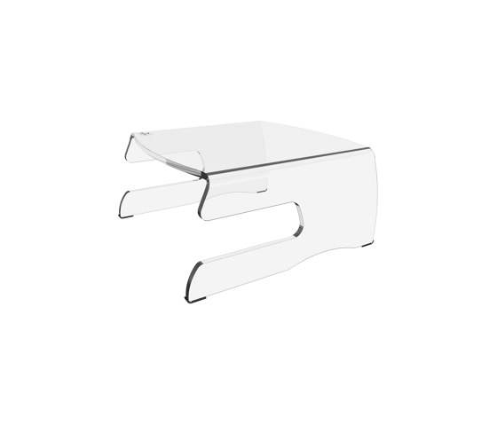Addit monitor riser 100 by Dataflex | Table accessories