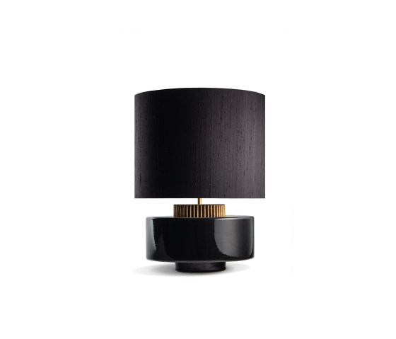 Marlowe Lamp Black by Porta Romana | Table lights
