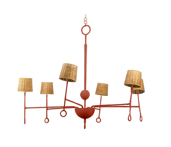 Crawford | Crawford Chandelier by Porta Romana | Suspended lights