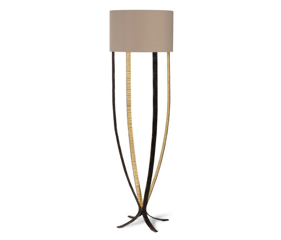 Alfonse | Large Alfonse Floor Lamp by Porta Romana | Free-standing lights